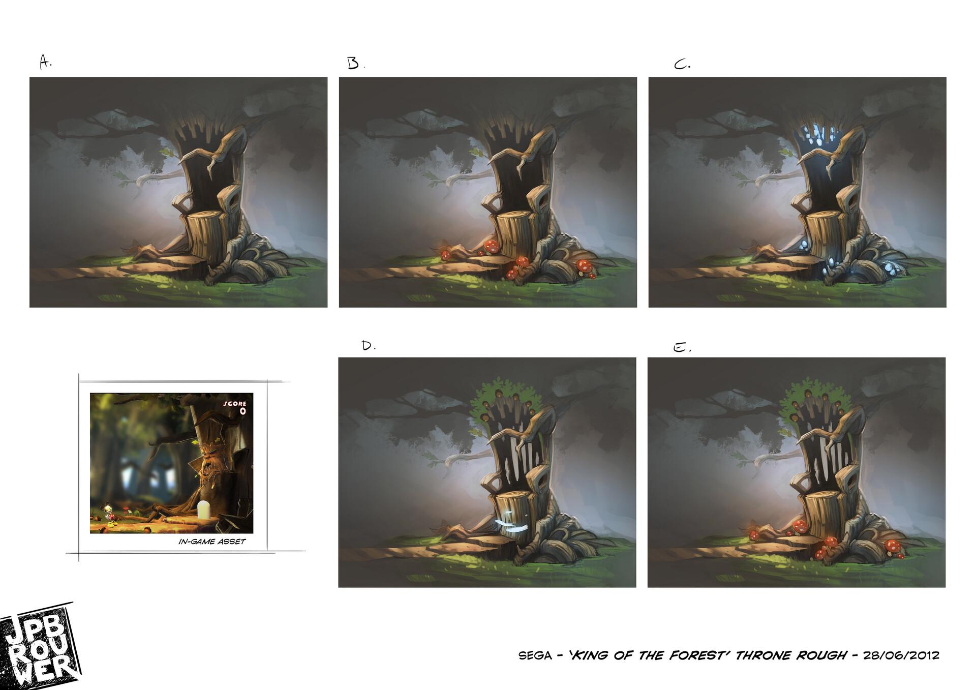 James brouwer sega kingoftheforest throne280612