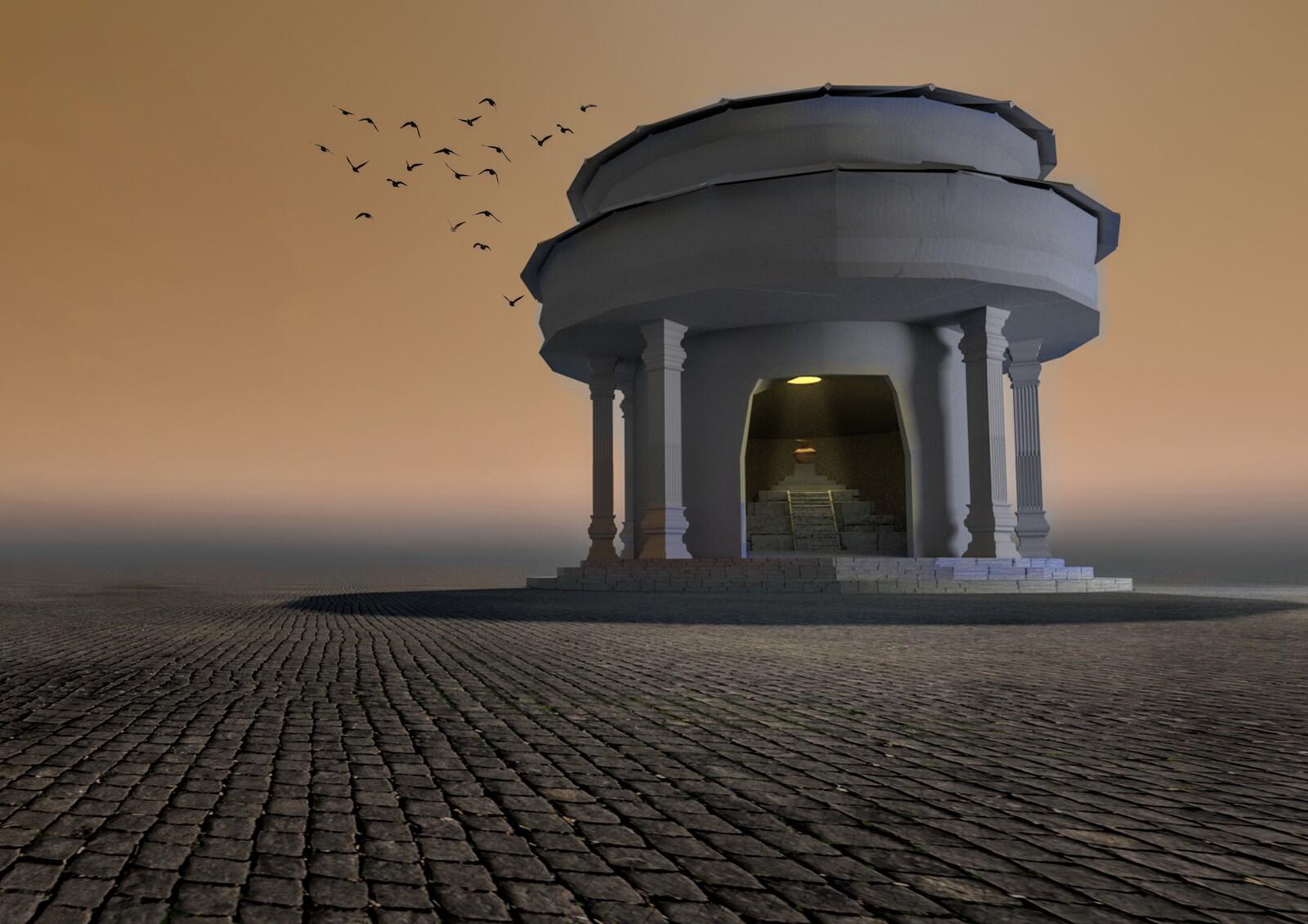 Tholos Temple Concept