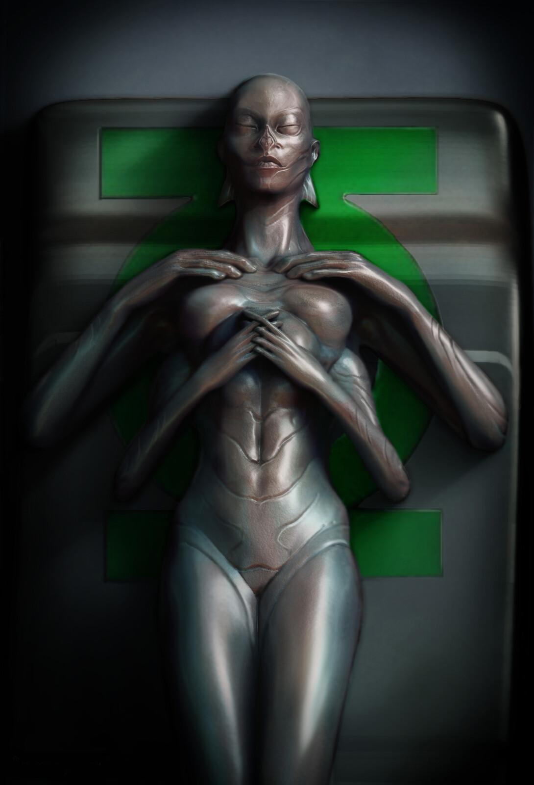 Green Lantern Alien