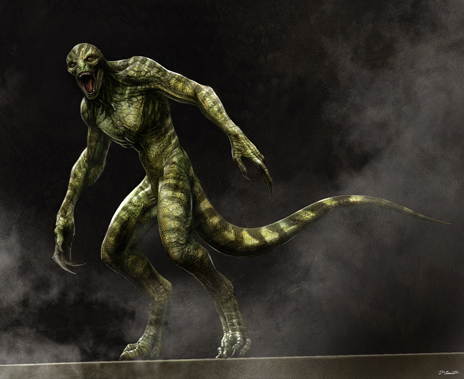 Amazing Spiderman Lizard Designs