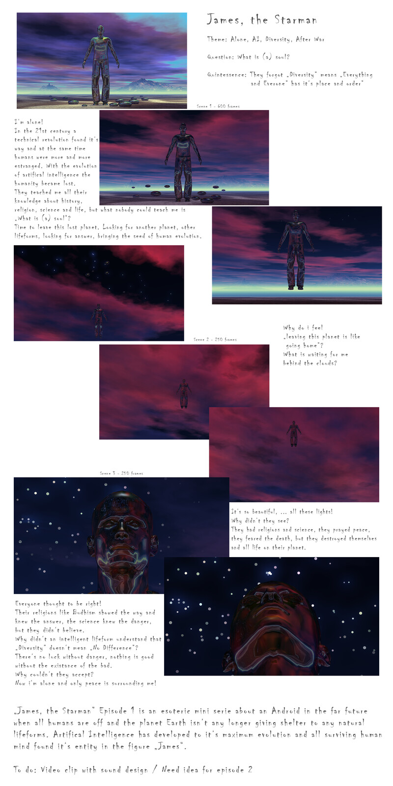 "Storybook ""James, the Starman"", Episode 1"