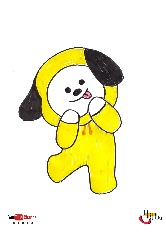 Bt21 Drawing Chimmy - Korean Idol