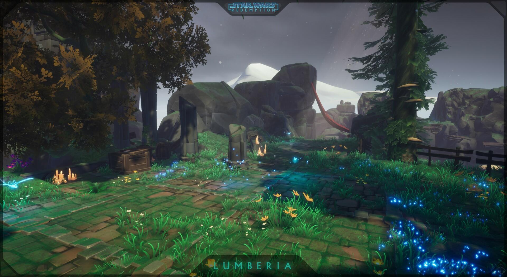 Etienne beschet swr screenshot lumberia temple 04