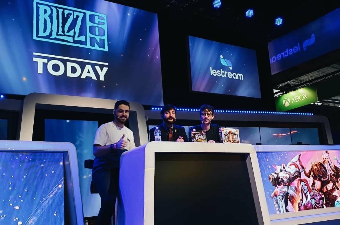 LeStream x BlizzCon - Paris Game Week (Photo credit : @lestream)