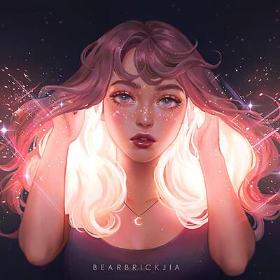 Karmen loh cosmic hair compressed