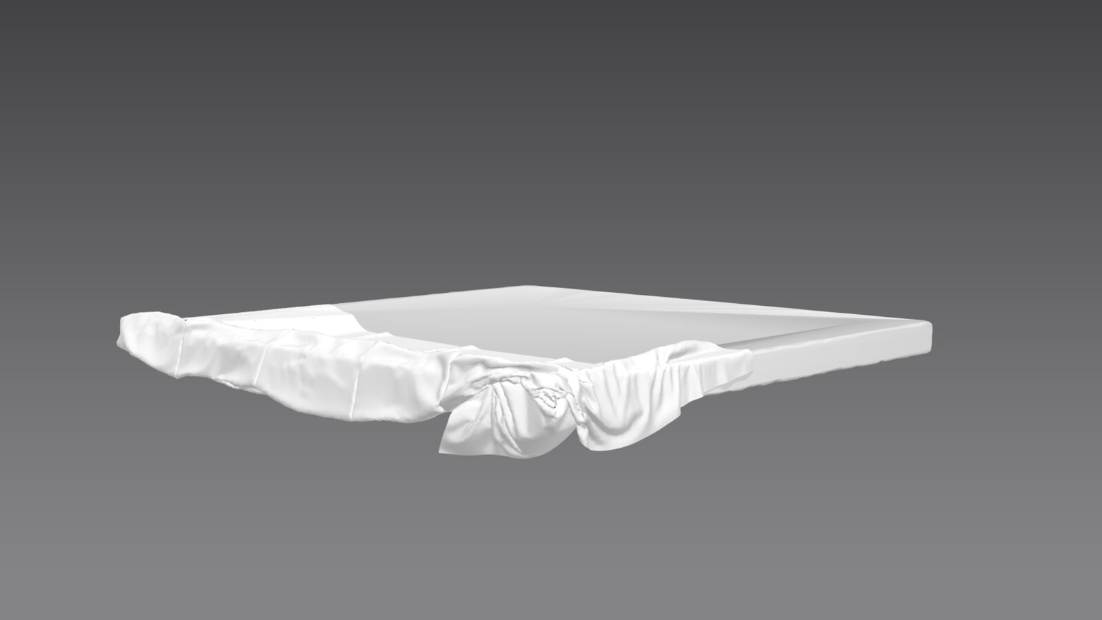 Both high and low poly ceiling rag created in Marvelous designer.