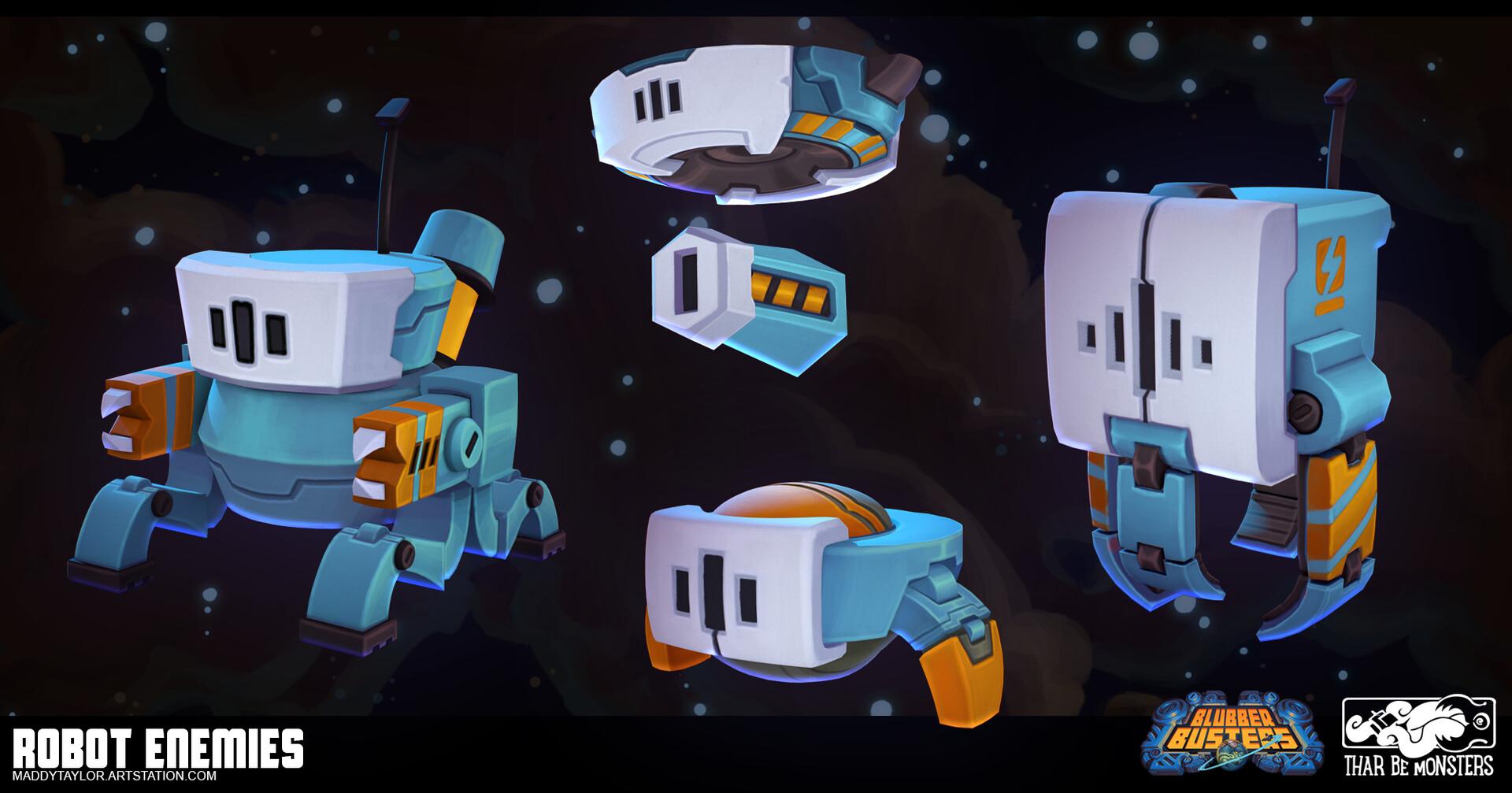 Maddy taylor kenyon enemy robots
