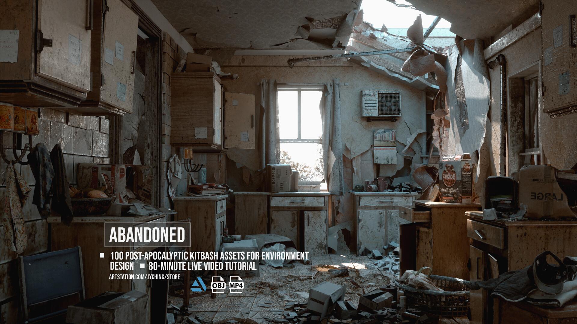 Jonathan ching abandoned environment01 final