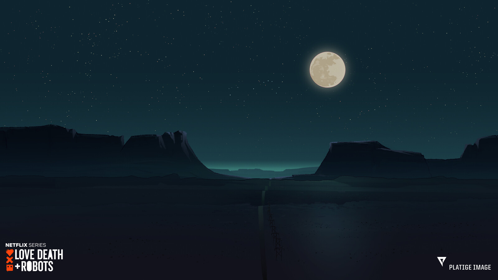 Final shot background painting
