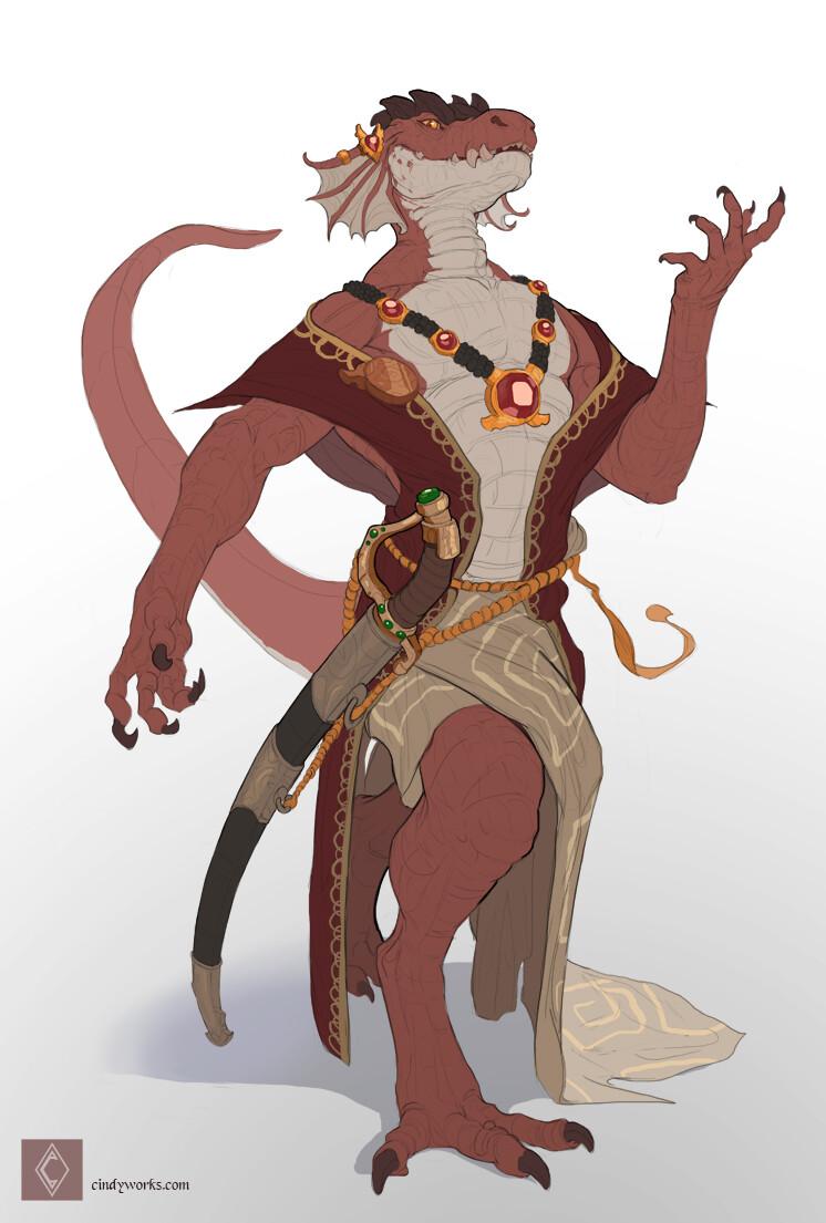 Cindy avelino rohrouk character sketch