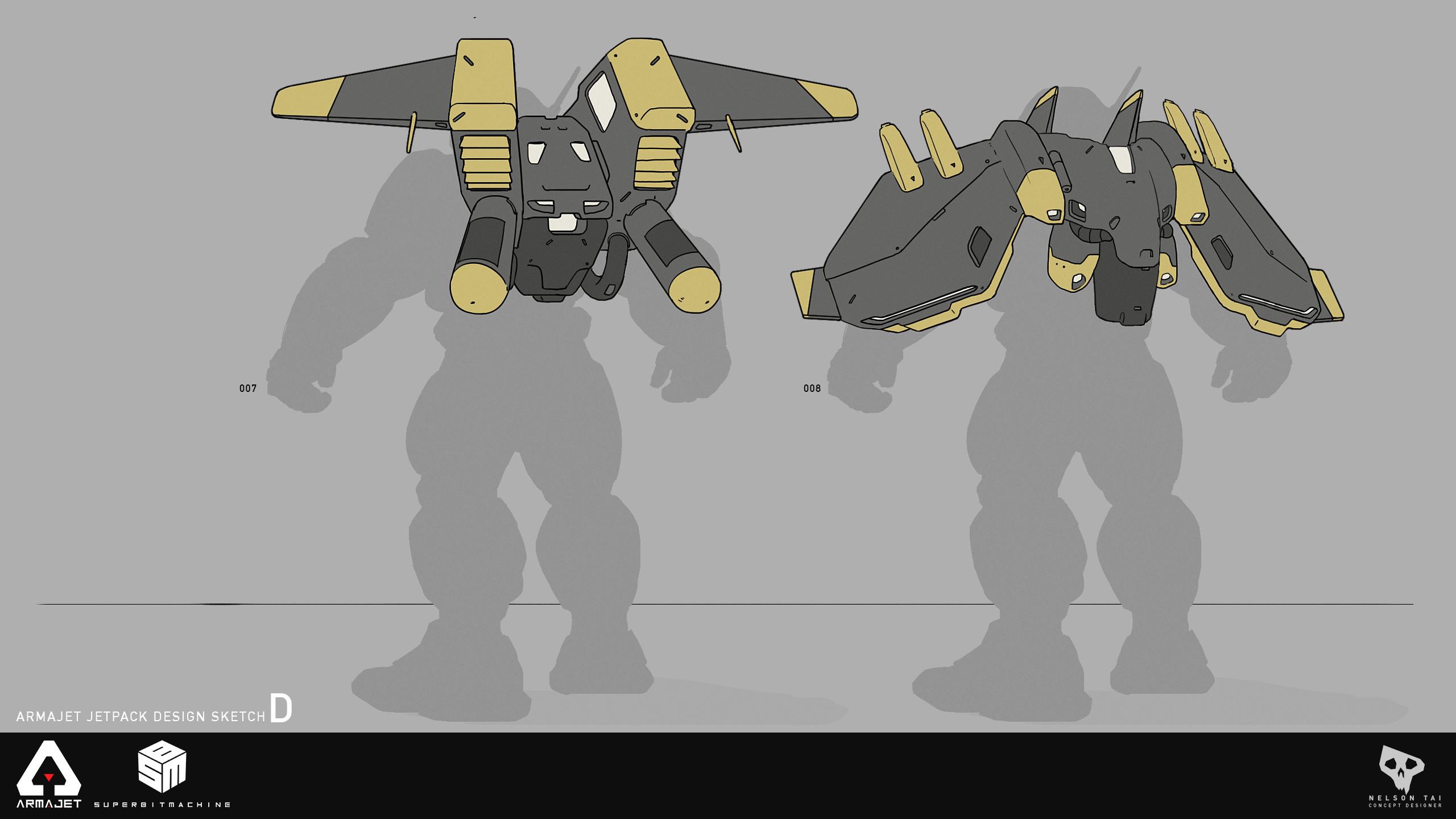 Armajet Jetpack Design D