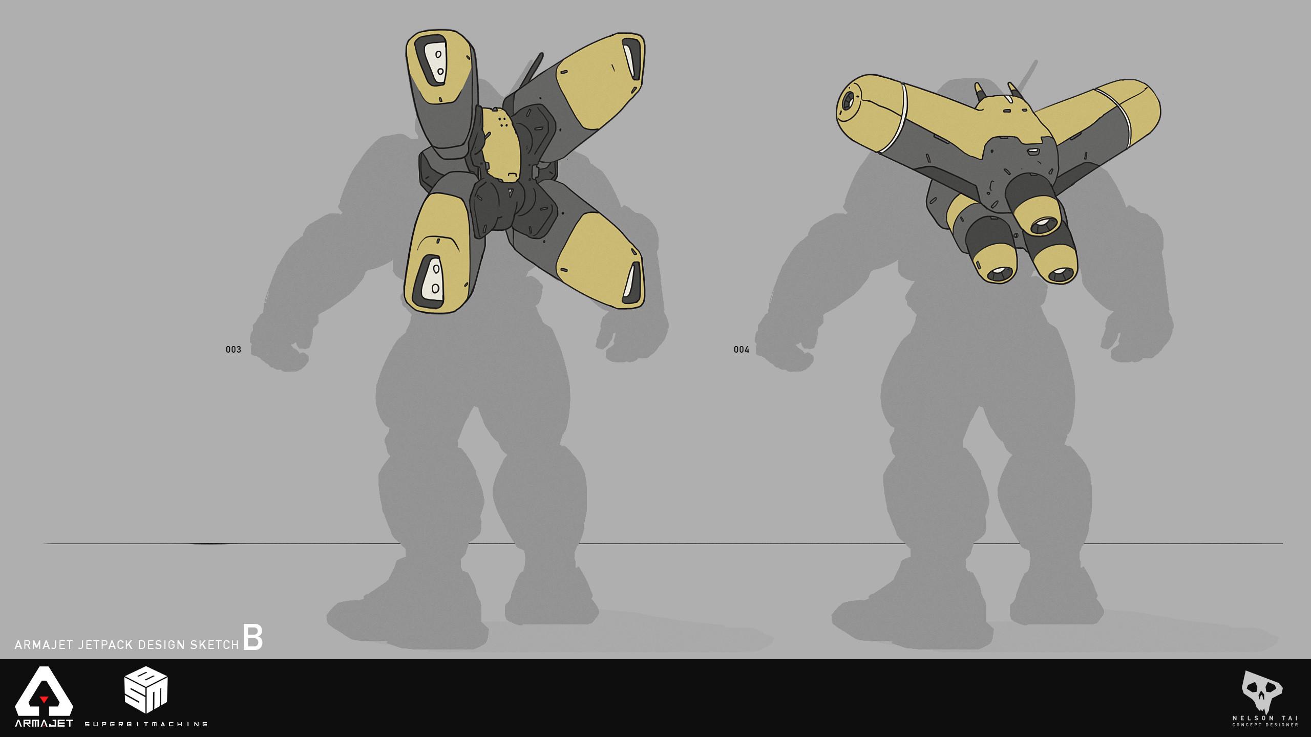 Armajet Jetpack Design B