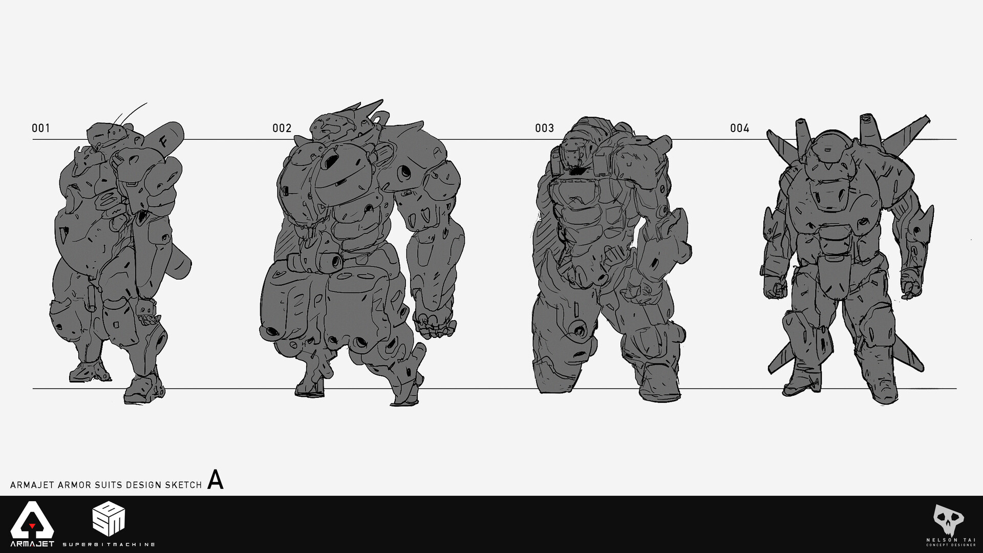 Quick sketches. I think these were way too bulky.