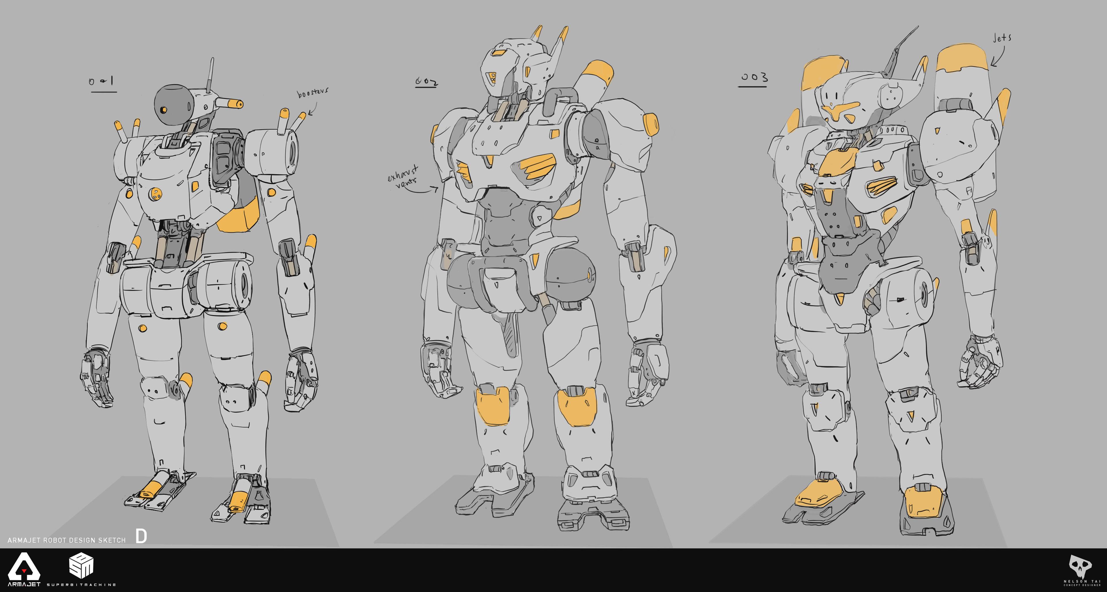 More robo exploration.