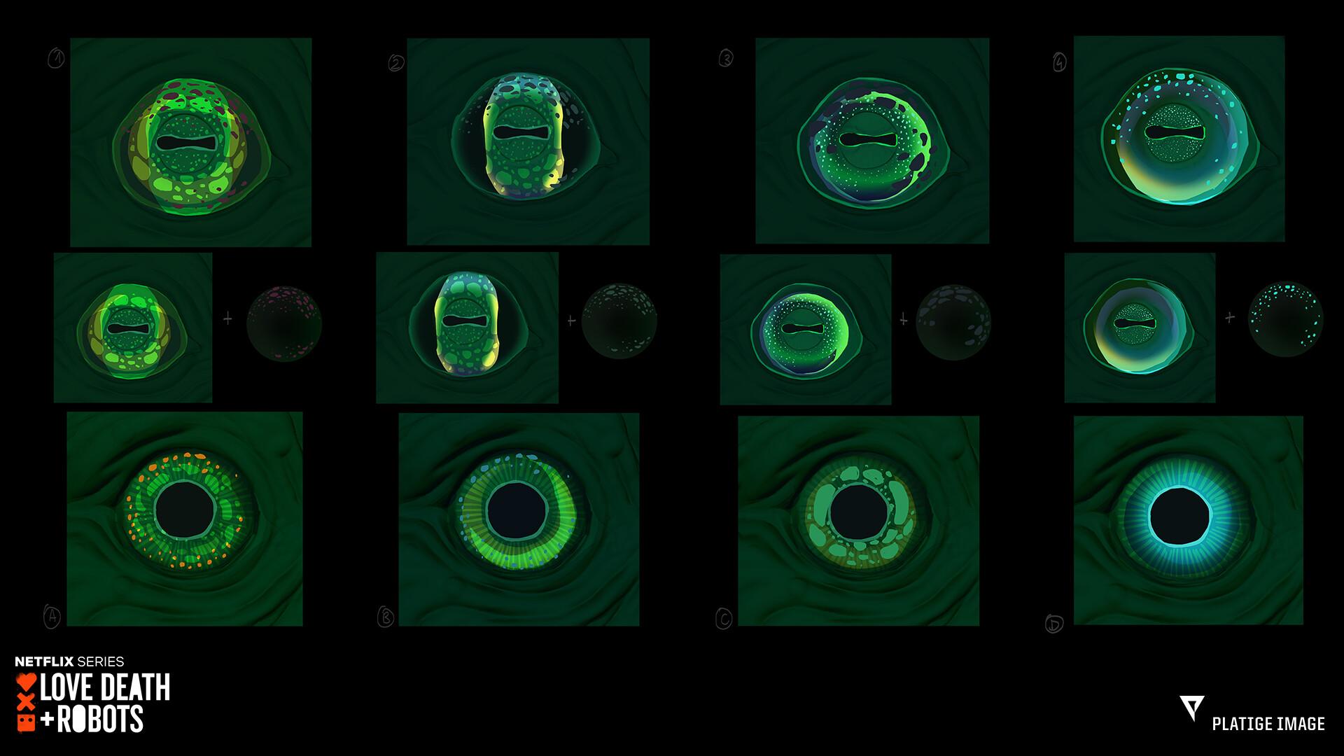 Concepts for Eye ( Irys + Eyelid combo)