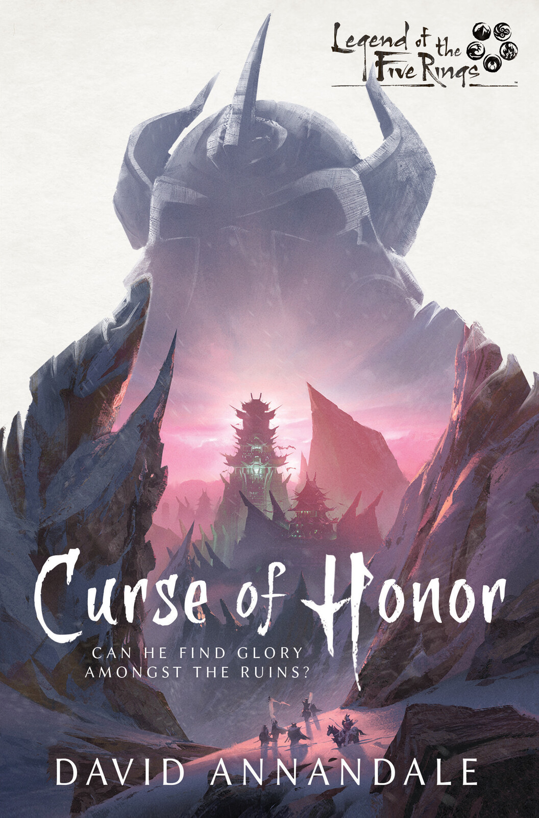 Legend of the Five Rings: Curse of Honor - Book Cover