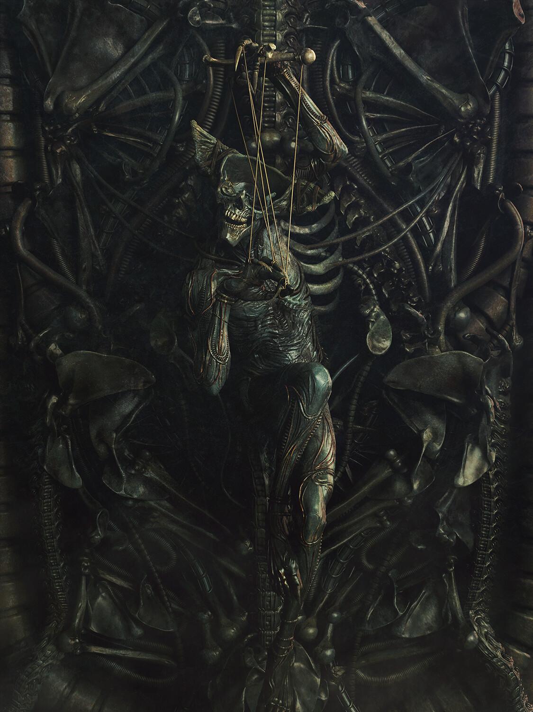 Sepultus Salaputtium H.R. Giger inspired version