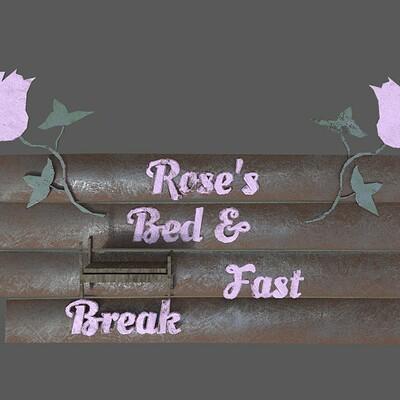 Andrew wilkins modoc tileset bed and breakfast sign