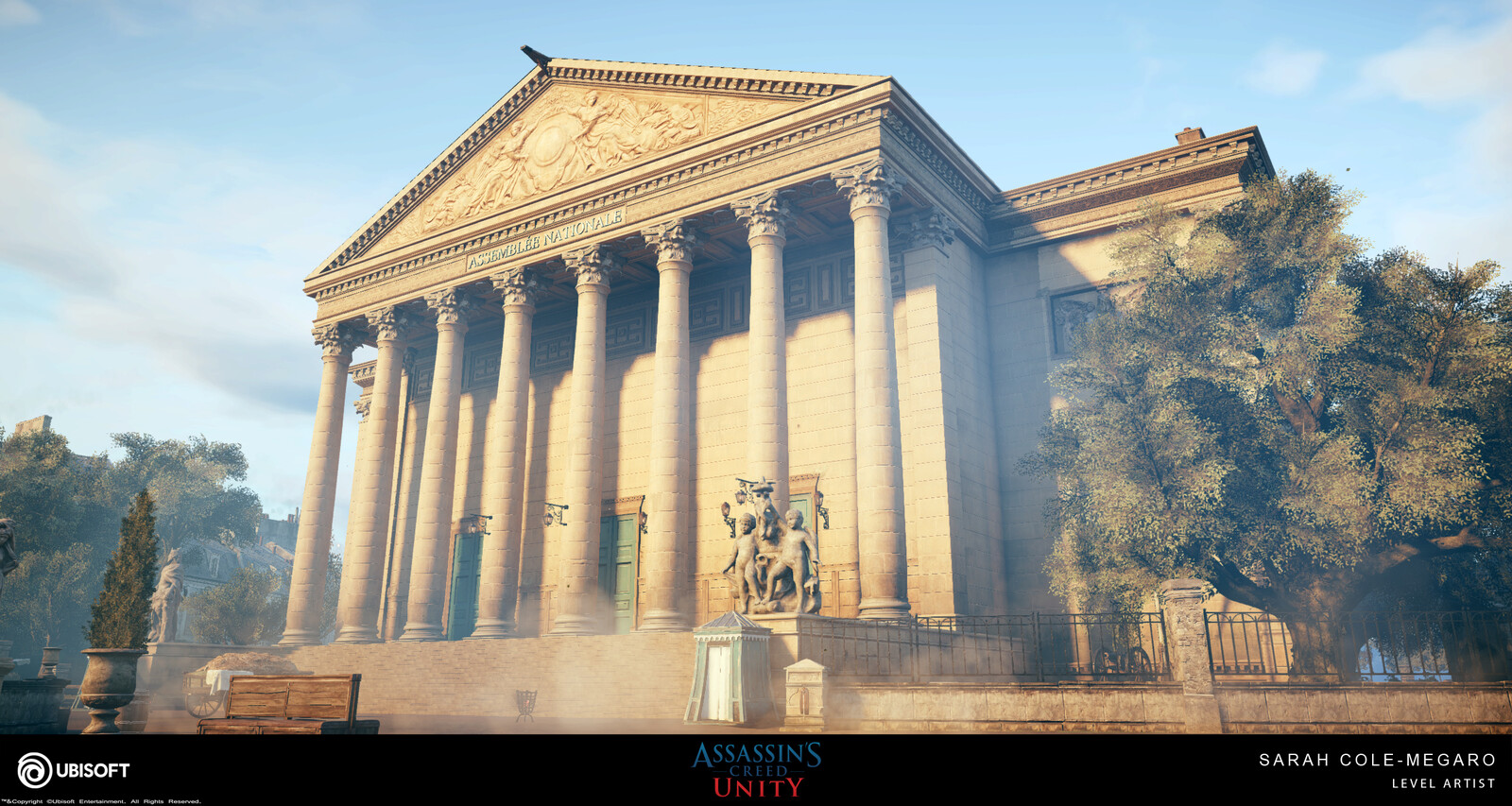 Assassins Creed Unity:  Palais Bourbon