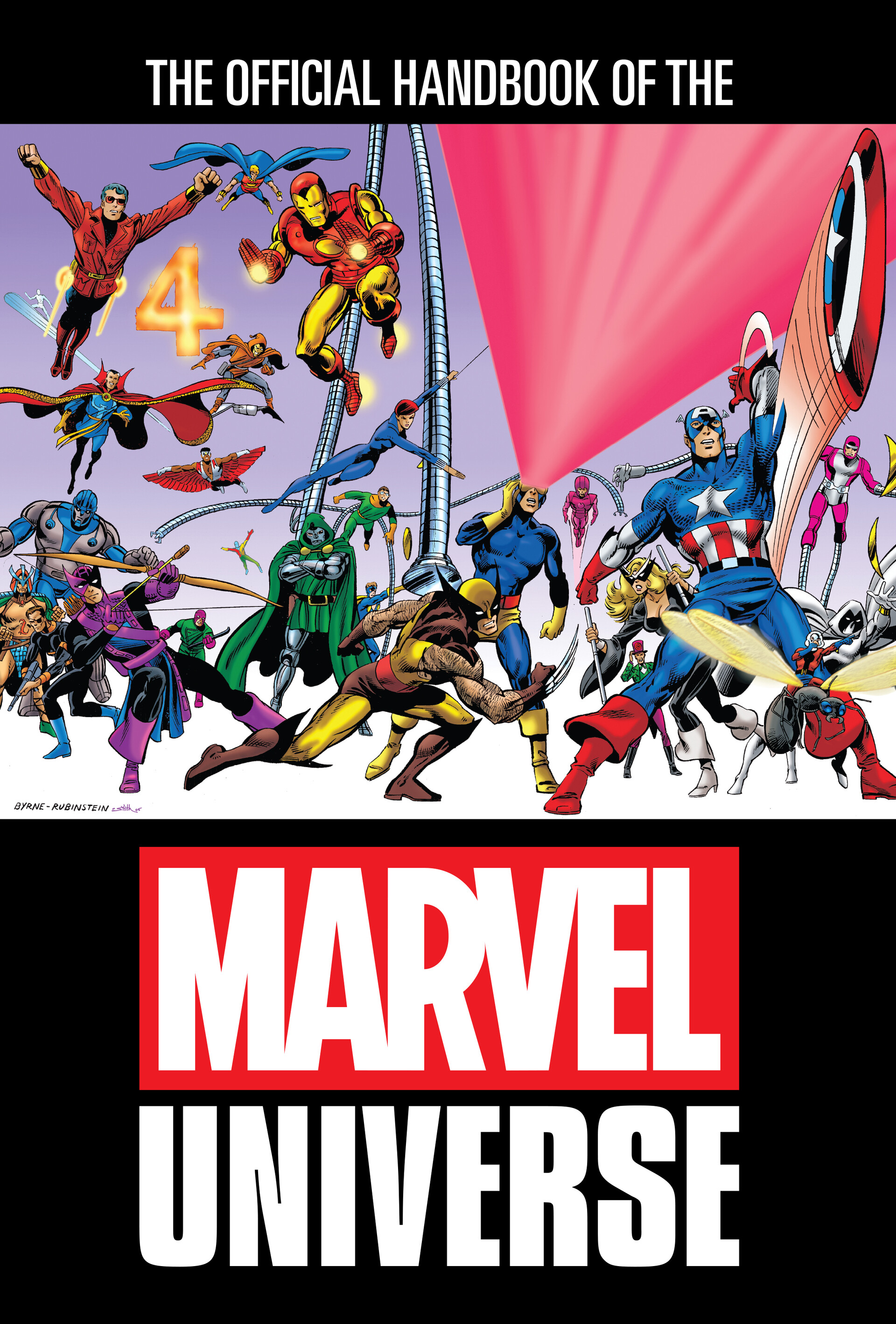 The Official Handbook of the Marvel Universe Cover