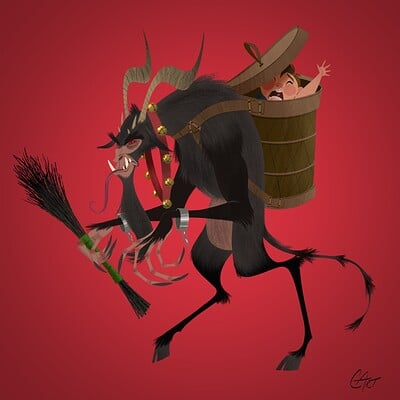 Chris ables krampus