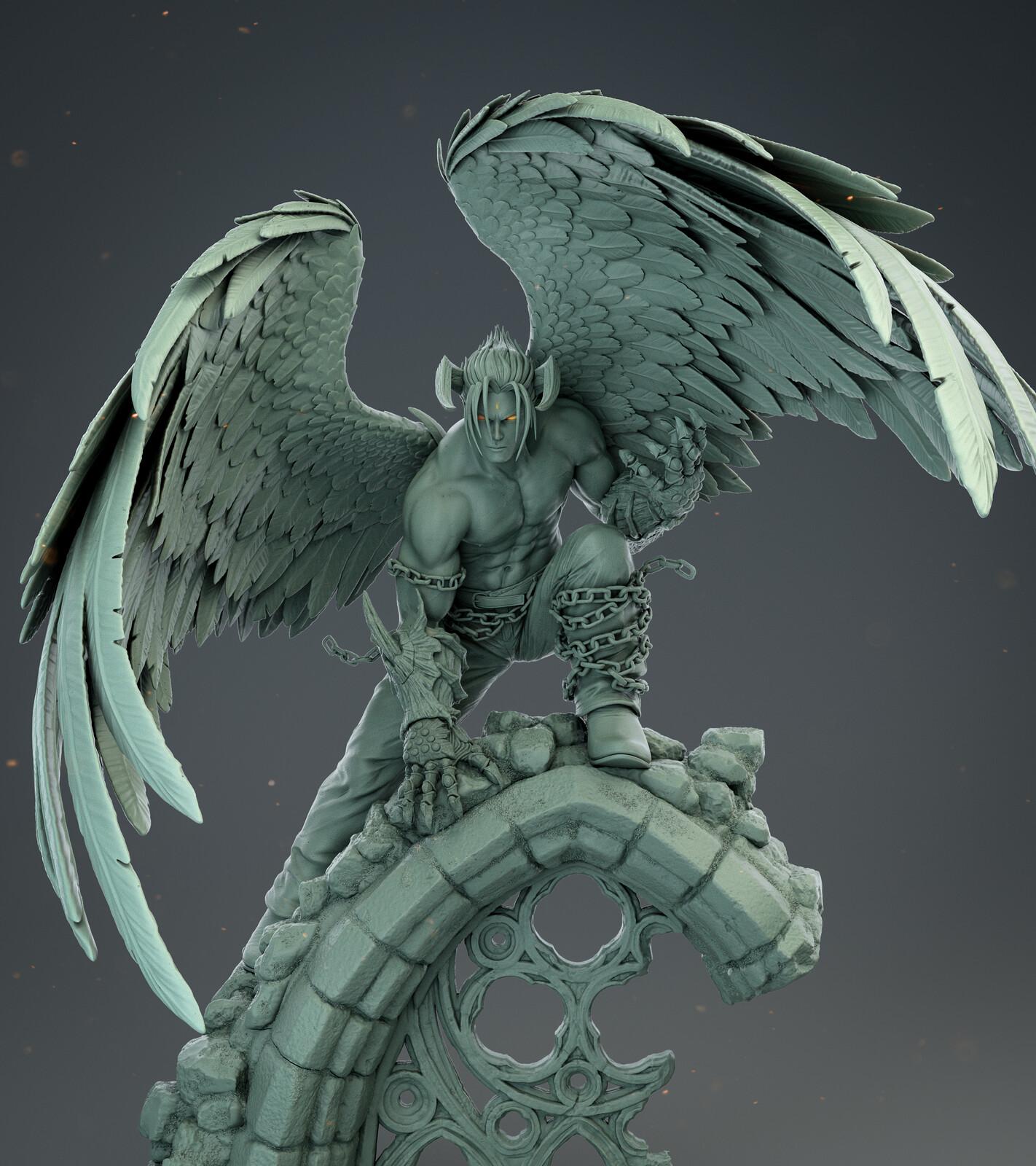 Devil Jin 1/4 Scale Figure