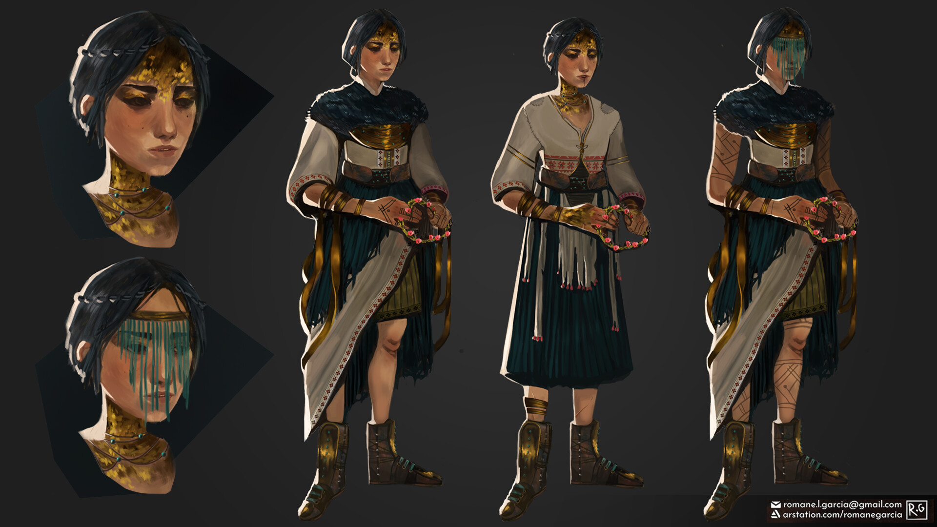 Character design variations