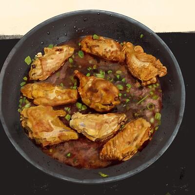 Natan rifkin shallow fried chicken