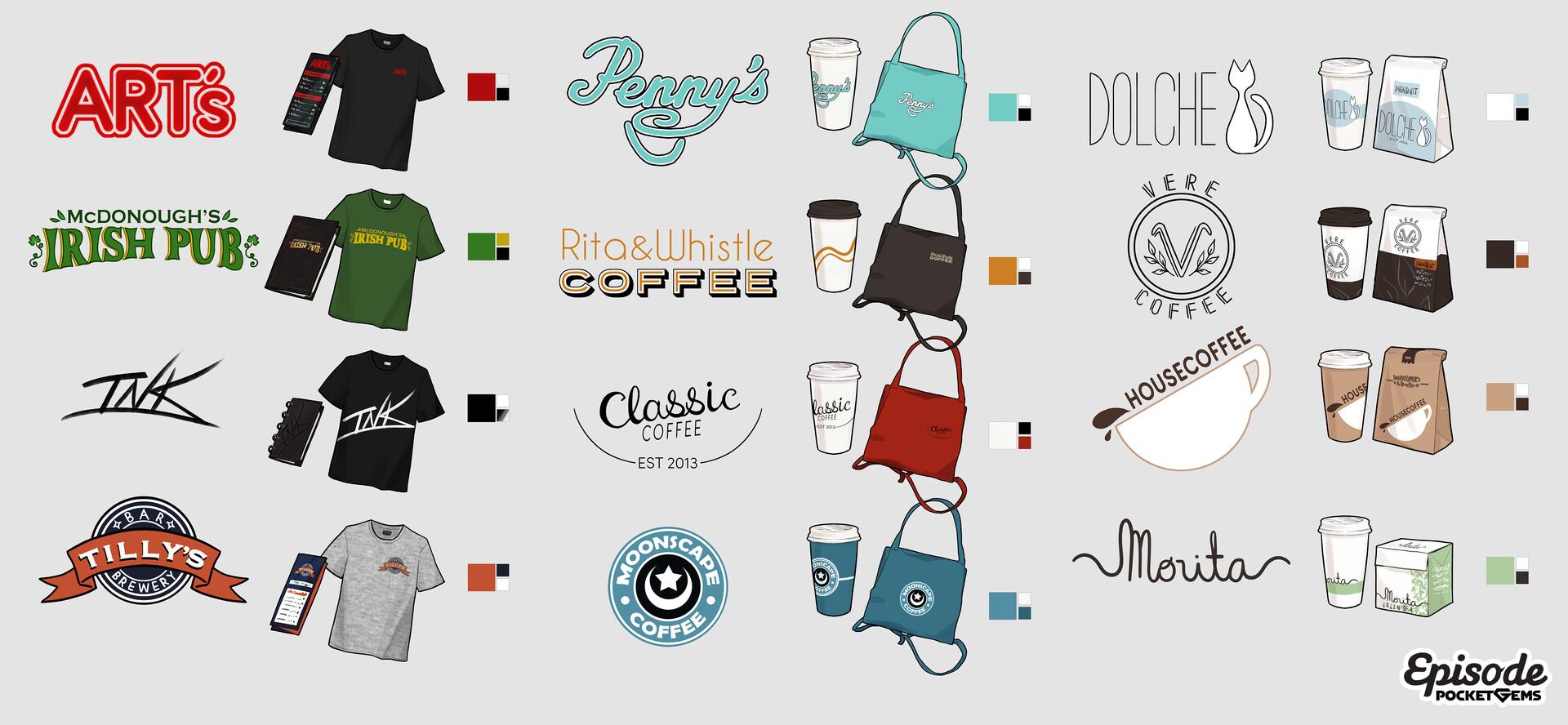 Dani kruse branding concept