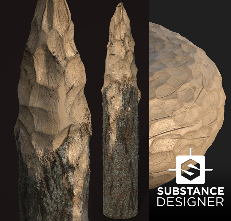 Thumb. Mixing 2 SBSARs in Substance Painter/Designer