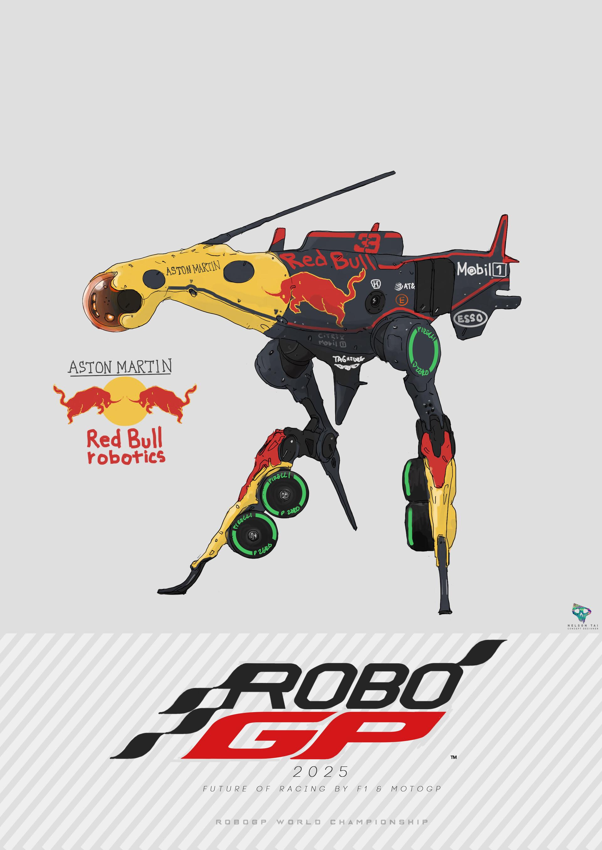 Aston Martin Red Bull Robotics | Runs on the data of the exciting Max Verstappen!