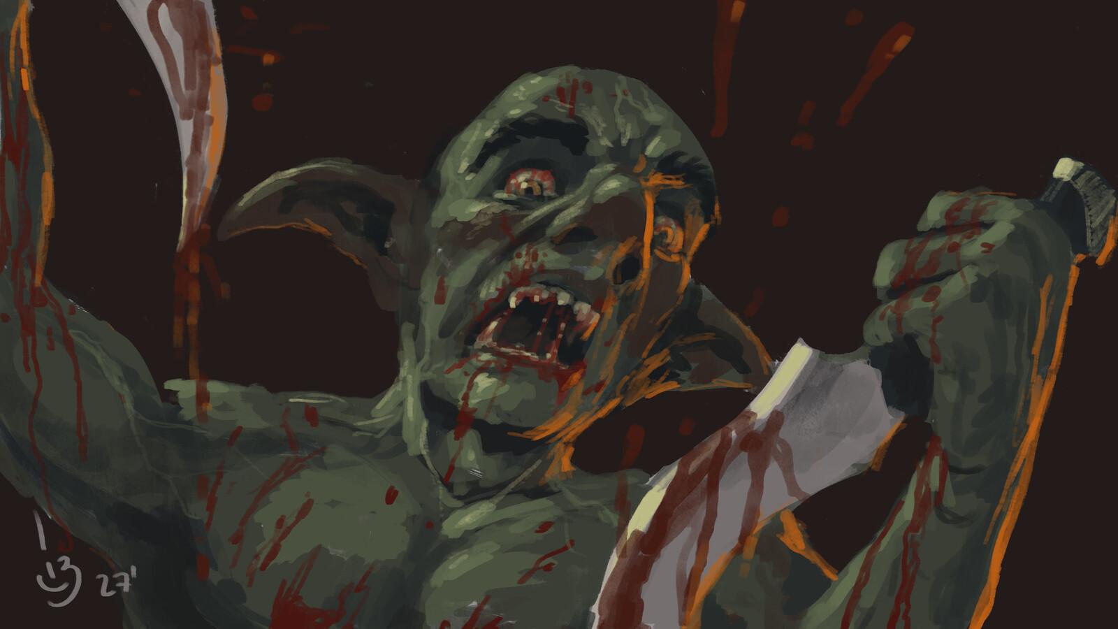 Goblin Berserker