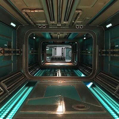 Pascal deraed couloir 2 color cyan