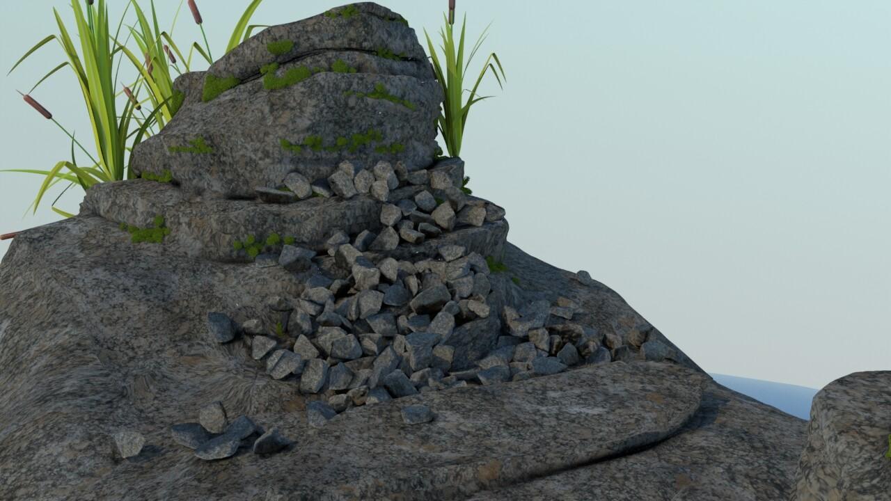 Rock Simulation 01