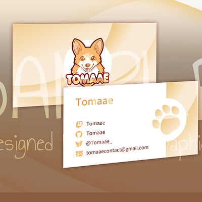 Aerlya graphics sample order 2 businesscard personal