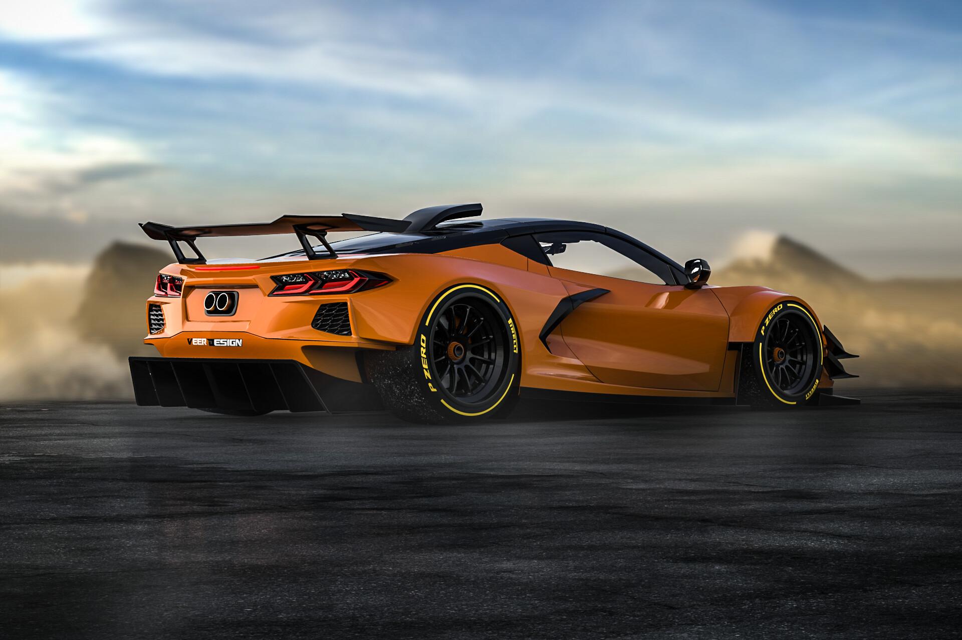 Veer Design Widebody C8 Corvette