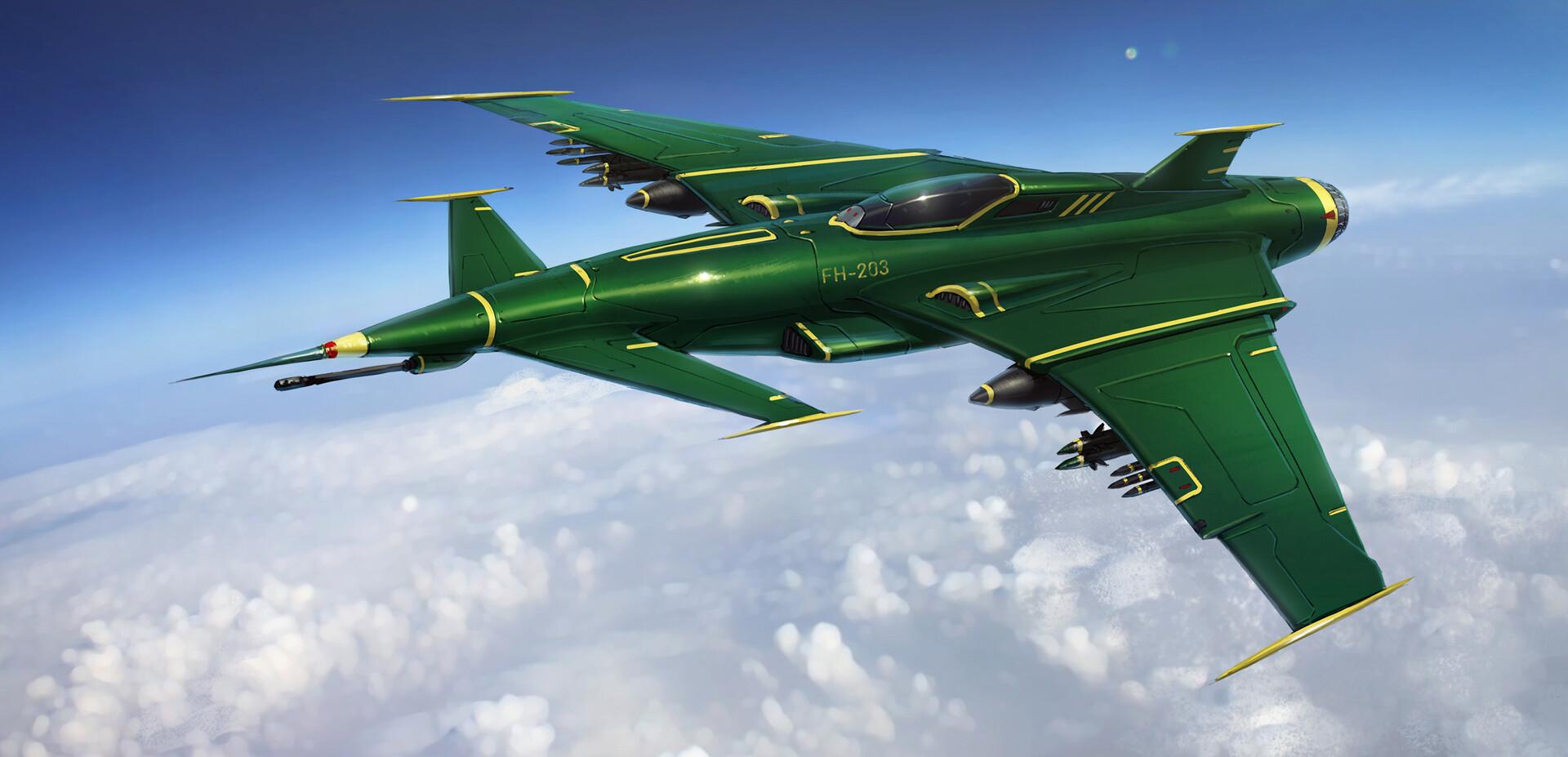 Jasza dobrzanski jet fighter final