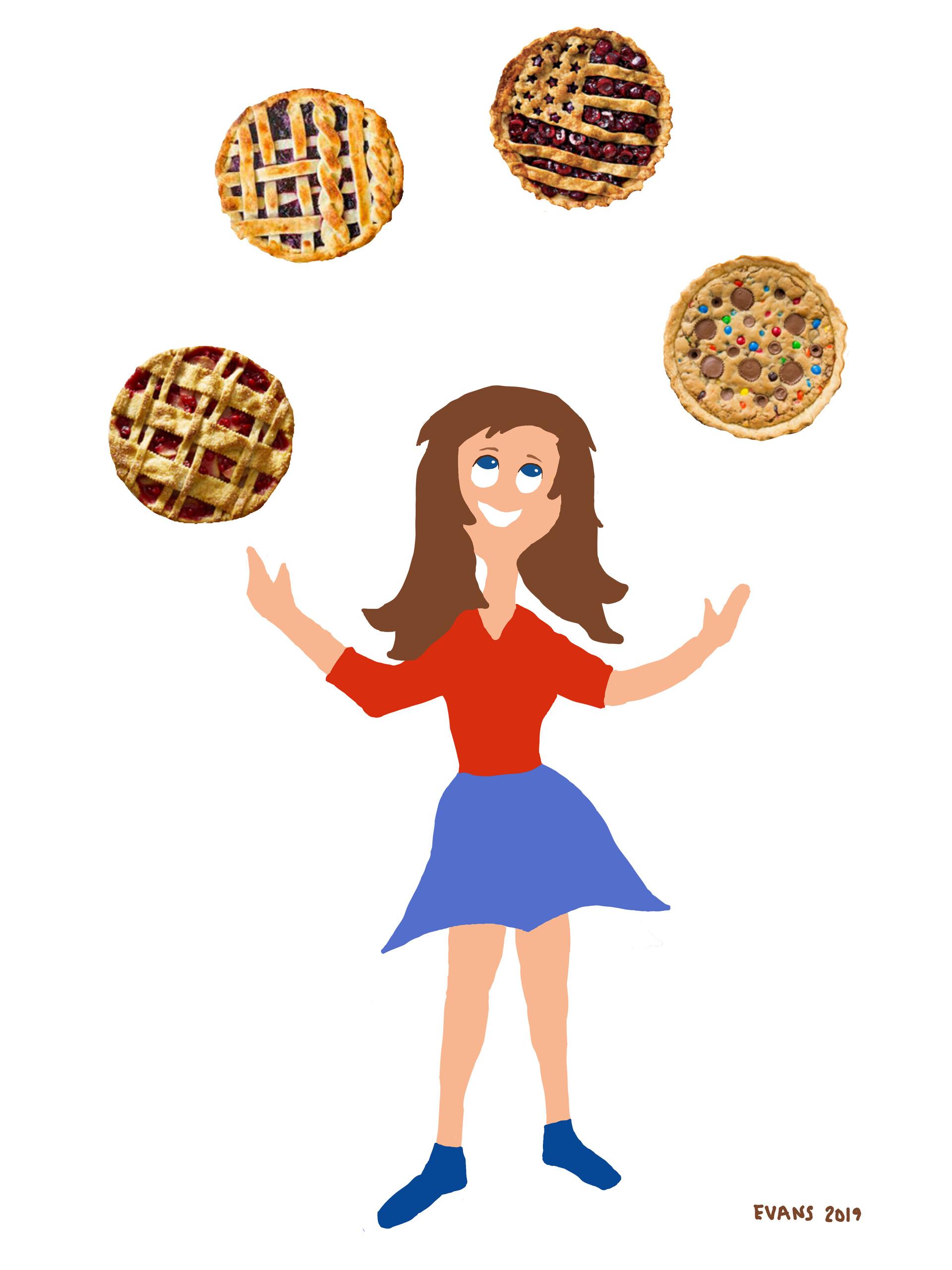 Juggling Pies 2019
