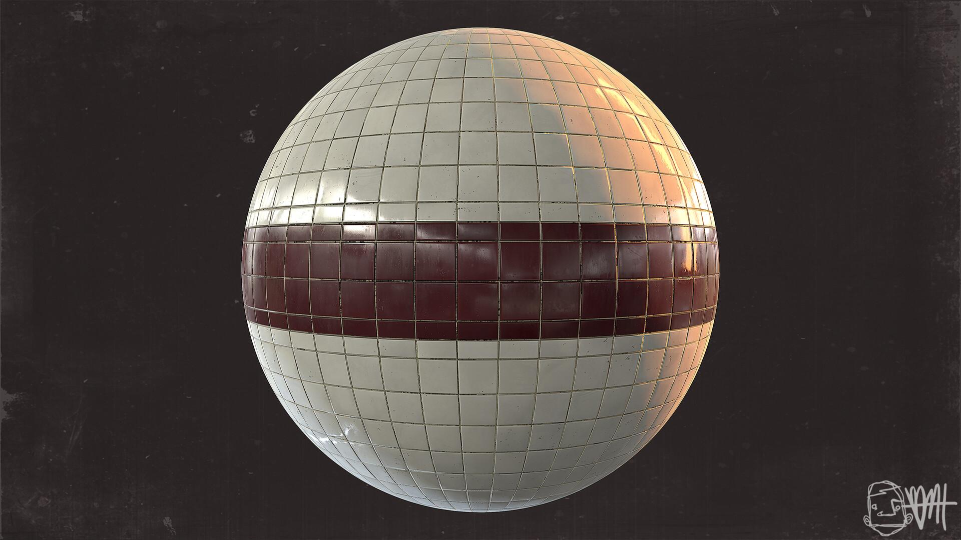 Brett marshall tucker subway tile 2 sphere render