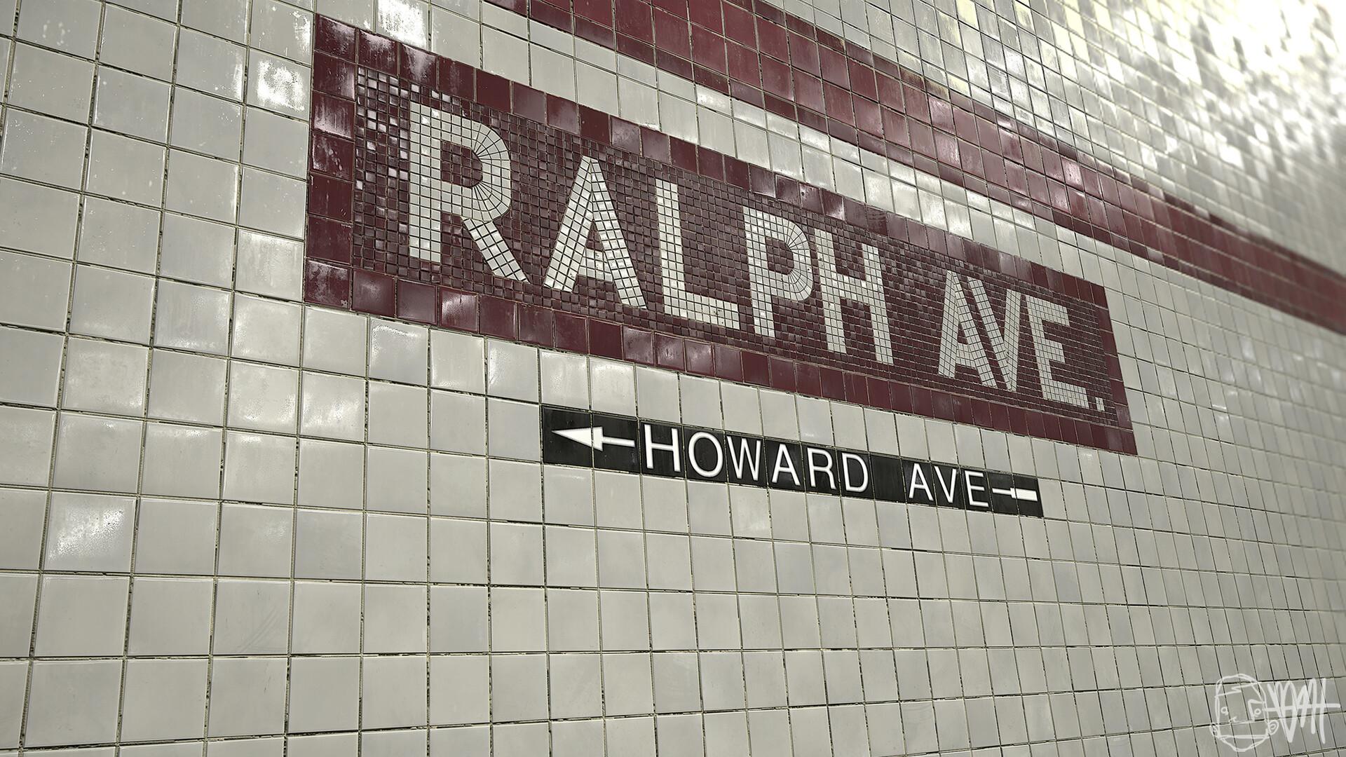 Brett marshall tucker subway tile marmoset flat