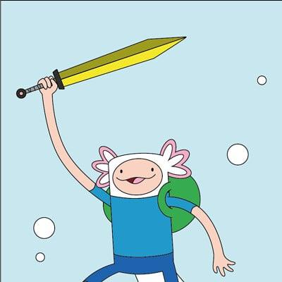 Toon van boxstael axolotl adventurer time