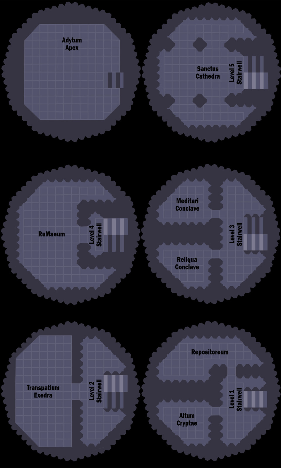 The entire, barren map for Campaign #1 level