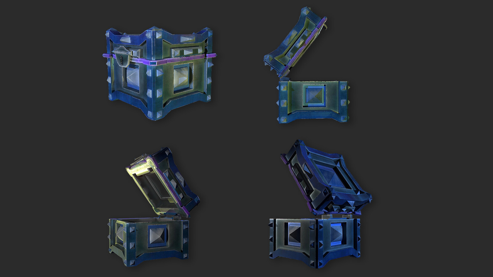 Stylized Tresure Chest