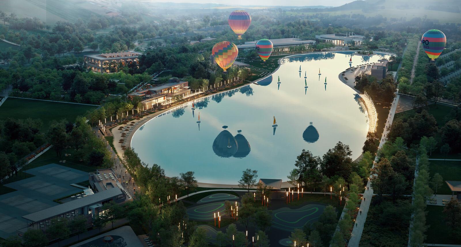 Crystal Lagoon EXPO