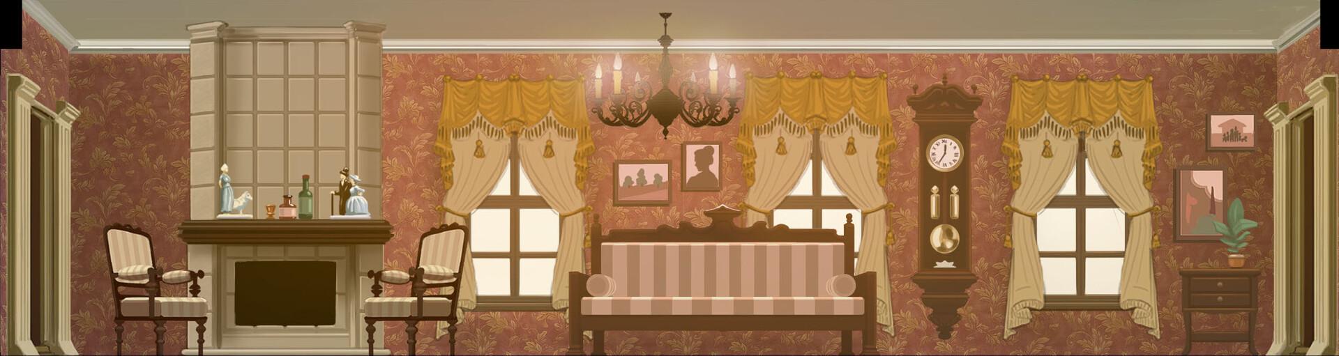 Talerock studio living room
