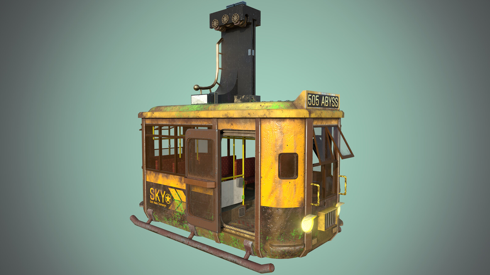 Sky Tram (very old work)