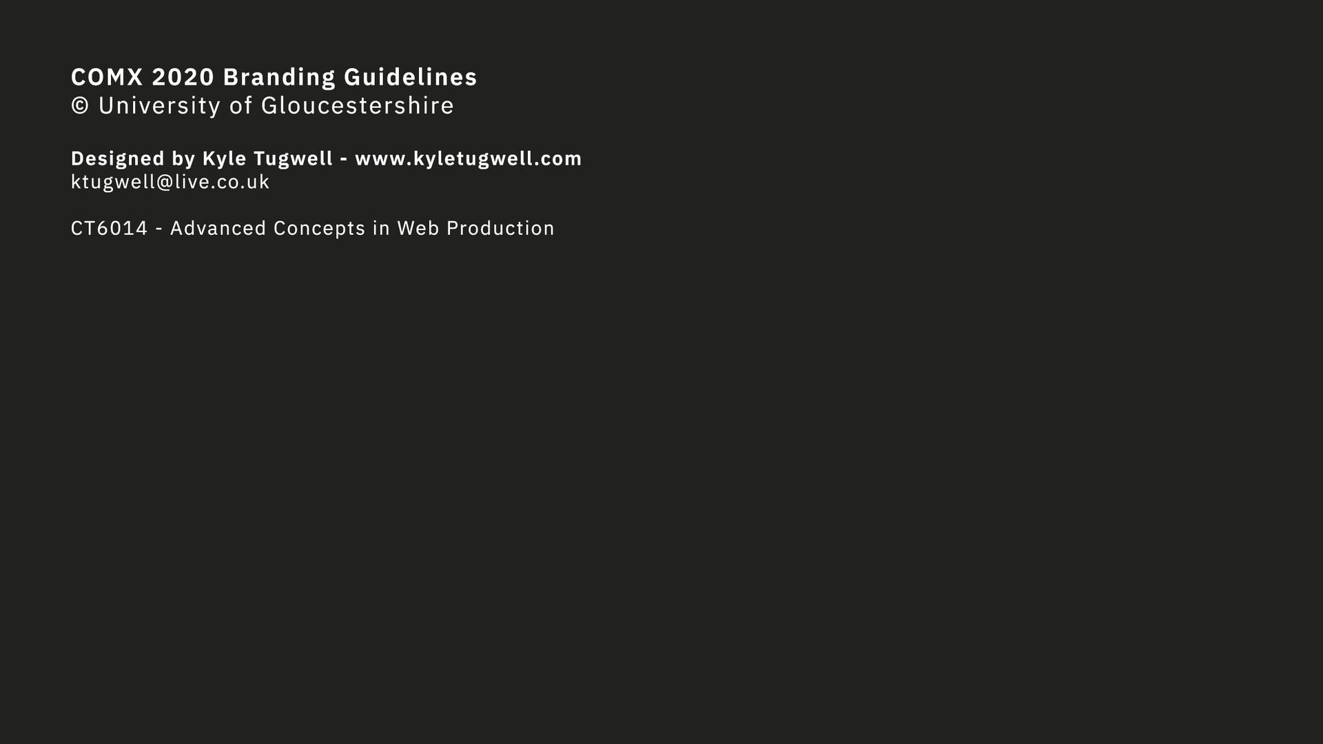 Kyle tugwell s1602904 comxbrandingguidelinesend