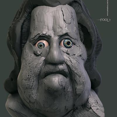 Surajit sen fooly digital sculpture surajitsen nov2019a