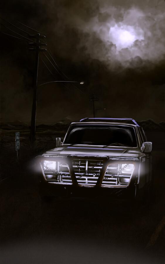 Christopher kallini horror cover