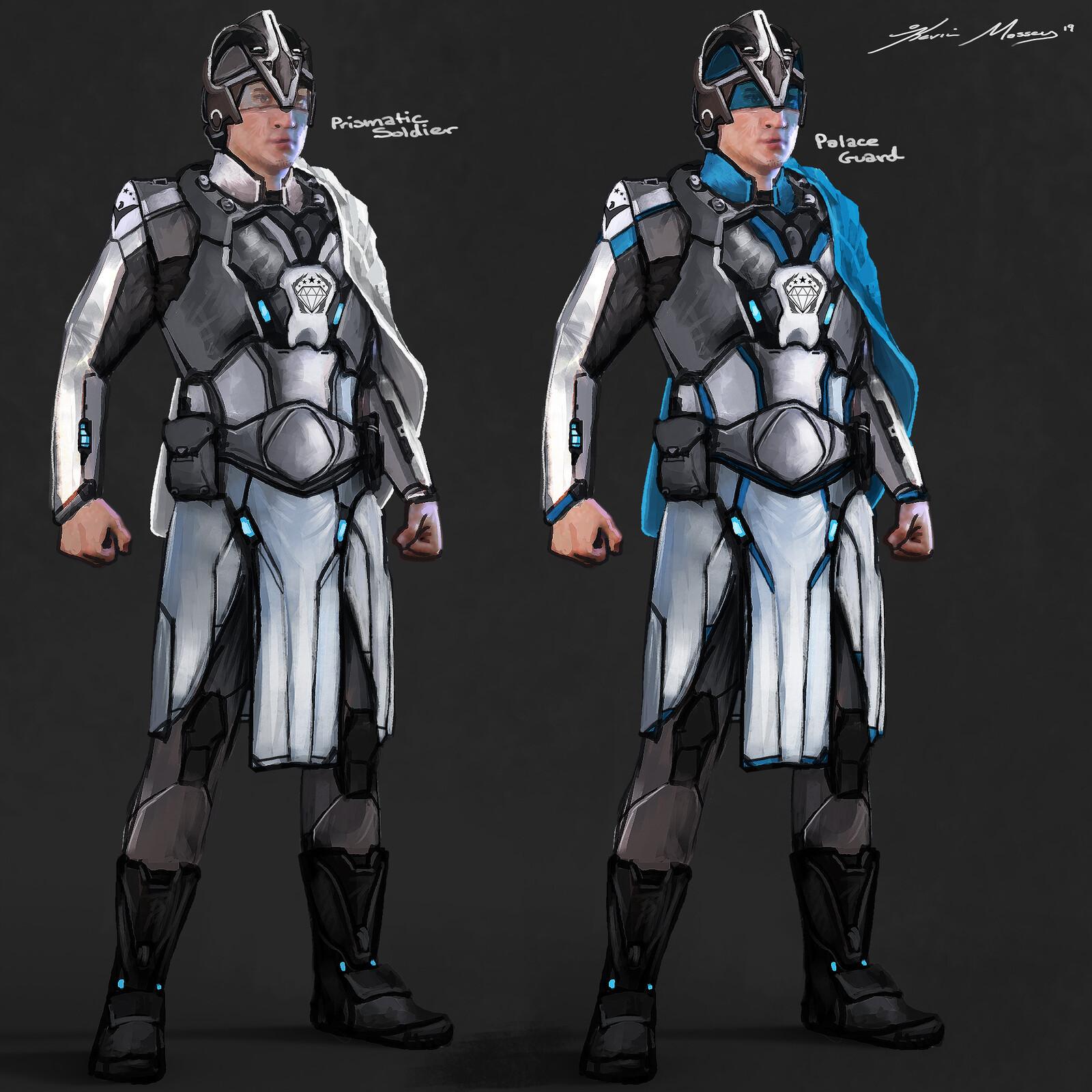 Prismatic Imperium Uniforms